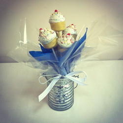 New cupcake cake pop mould - first attempt..