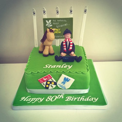 Another _hobbies and histories_ cake
