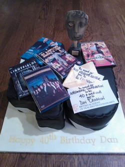 Happy birthday Dan from For Heaven's Cakes