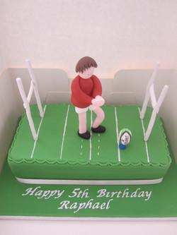 Rugby fan!