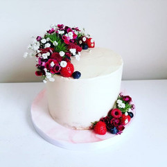 A quieter cake week this week which was