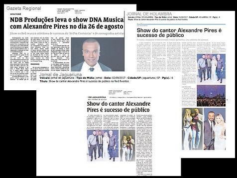 Show da NDB Produções é sucesso de público na região.
