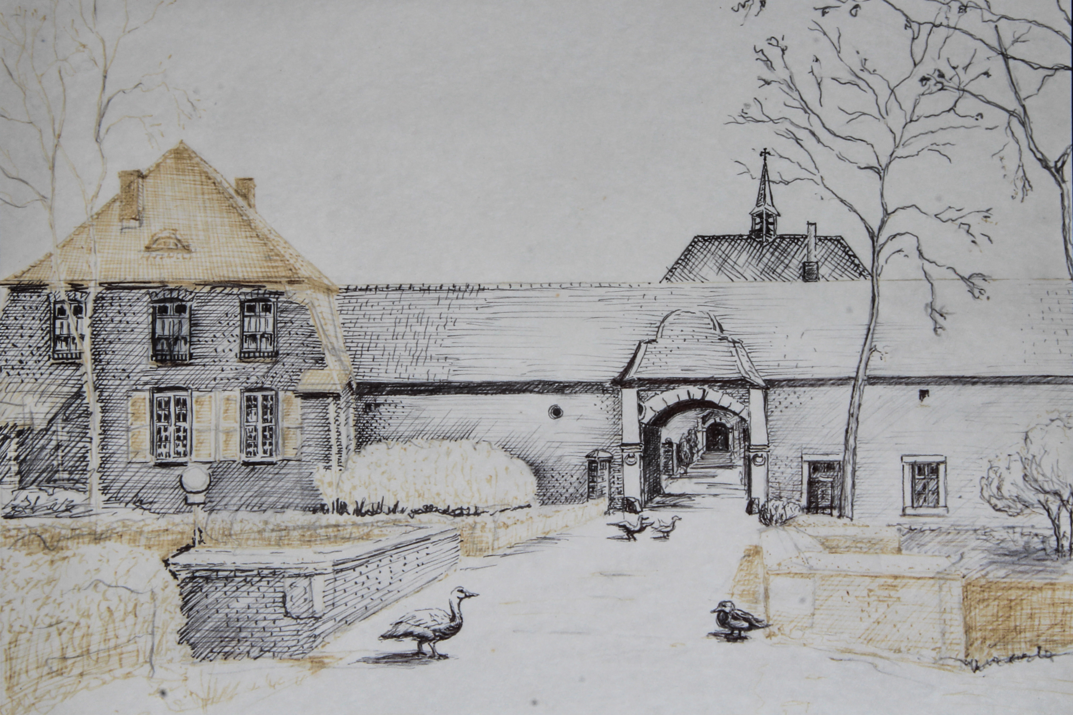 Kloster gemalt von Peter Naida