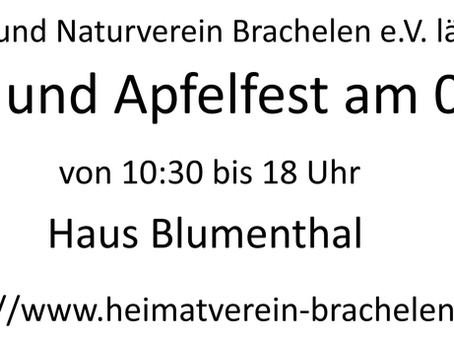 4. Apfelfest in Brachelen