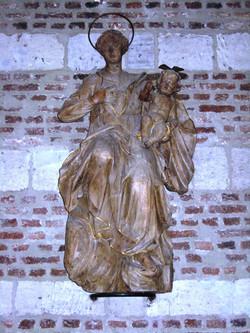 Kirche Innenansicht Marienaltar