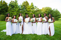 Bridal party photographs
