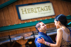Indian engagement session