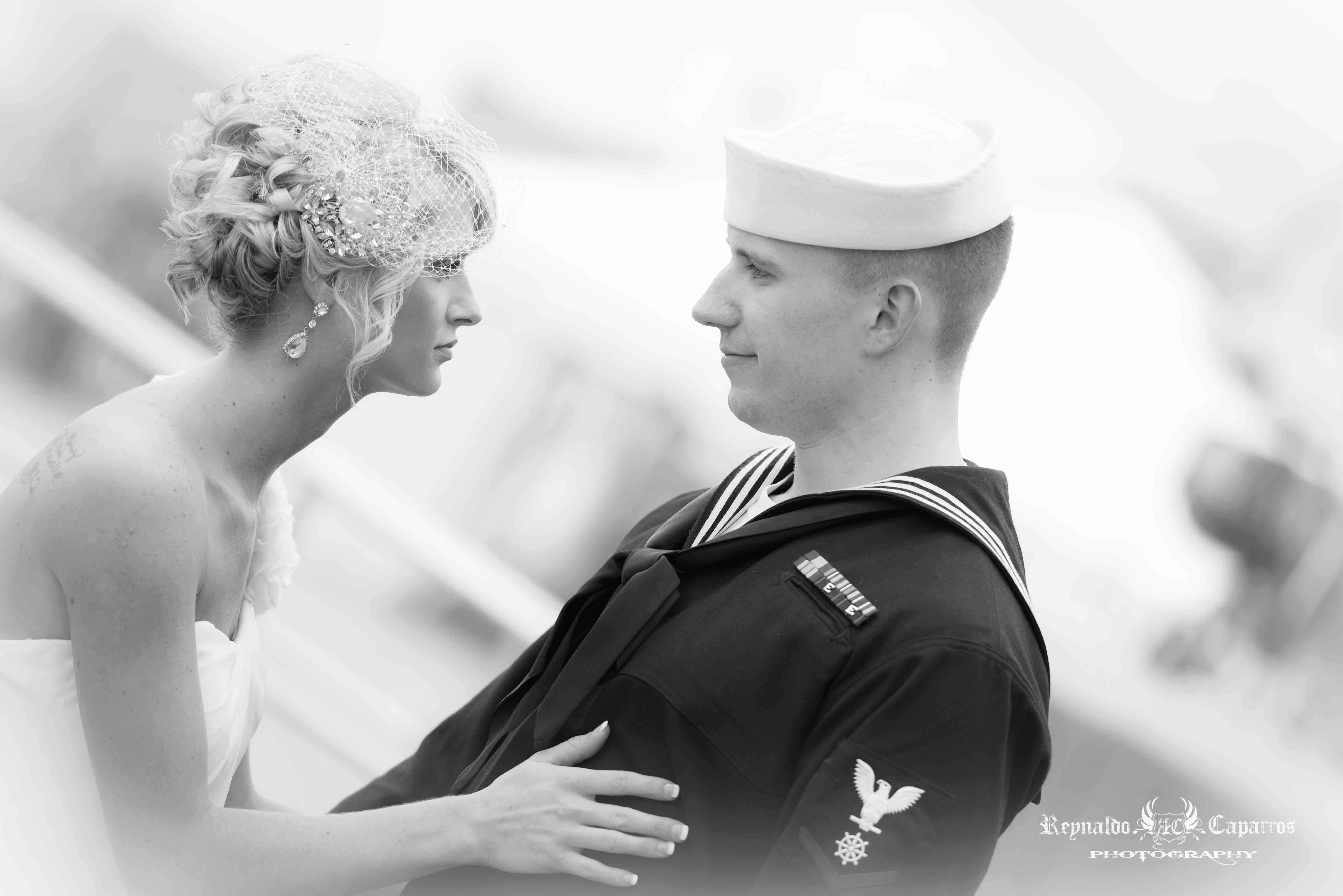 Battleship New Jersey Wedding
