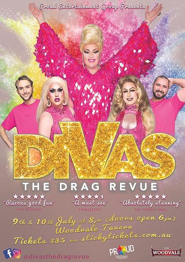 Divas The Drag Revue Drag Queen Perth