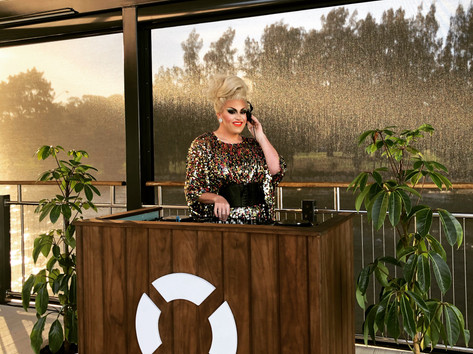 Dean Misdale Drag Queen DJ The Raft Pert