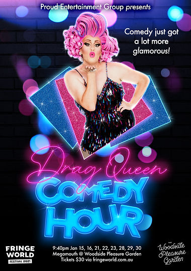 Drag Queen Comedy Fringe Perth