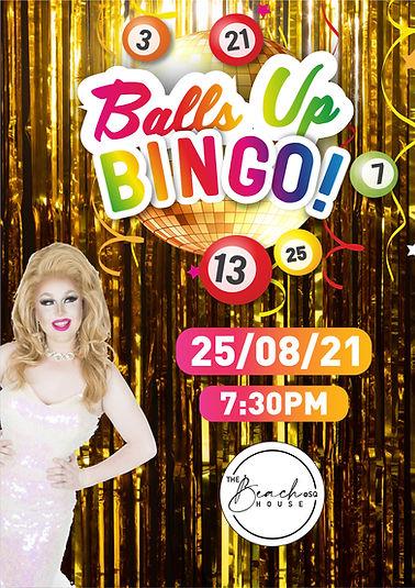 Balls Up Bingo Drag Queen Perth