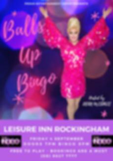 Drag Queen Bingo Balls Up Perth
