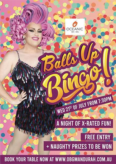Balls Up Bingo Mandurah Drag Queen