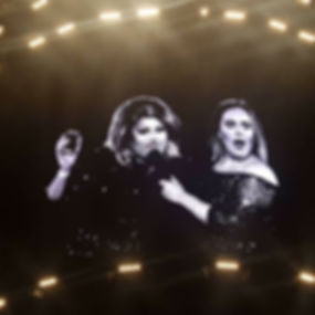 Femiem on stage with Adele in Perth