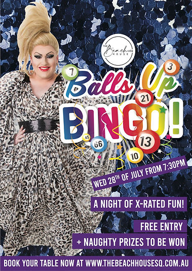 Balls Up Bingo Hillarys Drag Queen Perth