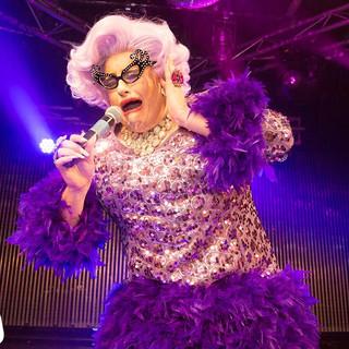 Feminem as Dame Edna