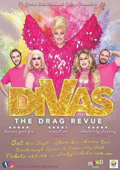 Divas The Drag Revue Perth Drag Queen Show