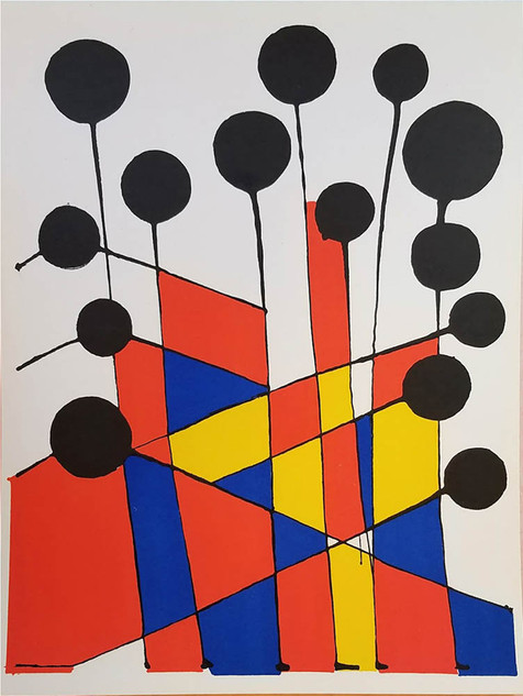 "Alexander Calder ""Jardin Fleuriste"""