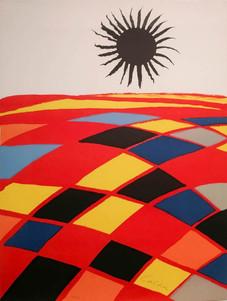 "Alexaner Calder ""Soleil Noir"""