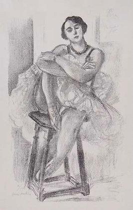 Henri Matisse - Danseuse au Tabouret