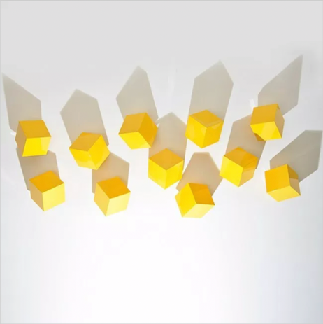 Chatterboxes, Yellow (Set of 9)