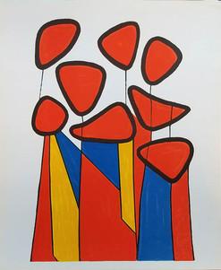 """Alexander Calder """"Le Fleurs"""""""