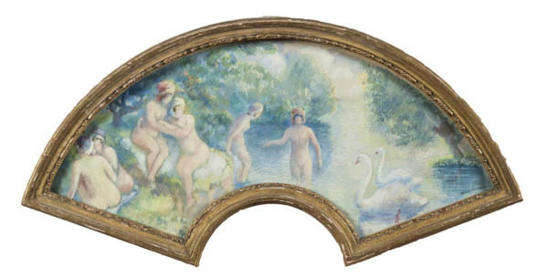 "George Manzana Pissarro, ""Femmes au Bain"""