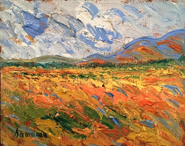 """Samir Sammoun """"Wheat Field Bekaa Valley"""""""