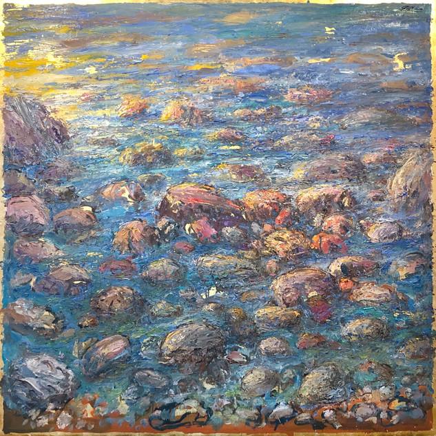 Summer Sea, Mediterranean Stones