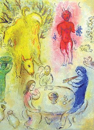 Marc Chagall - Pan's Banquet
