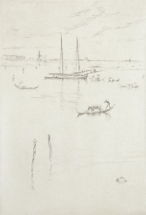 James Abbott McNeill Whistler - Little Lagoon