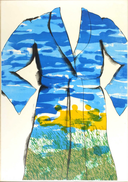 """Jim Dine, """"Self Portrait: The Landscape"""""""