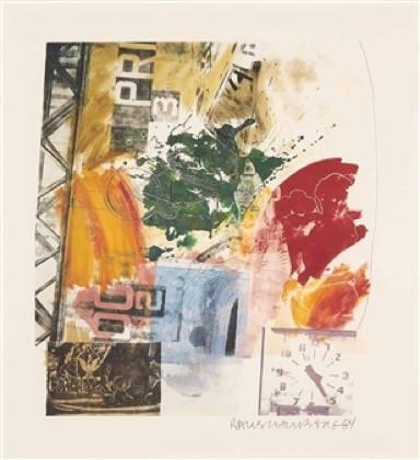 """Robert Rauschenberg, """"Untitled"""""""