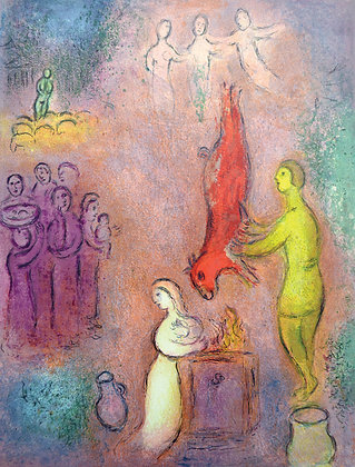 Marc Chagall - Sacrifices Made to the Nymphs