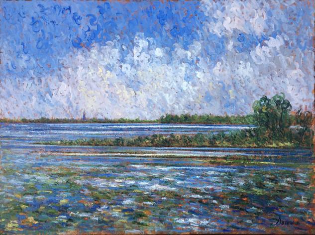 "Samir Sammoun ""Invitation For Fishing, St Lawrence River"""