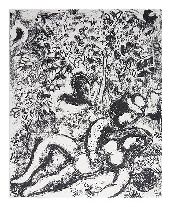 Marc Chagall - The Pair in the Tree
