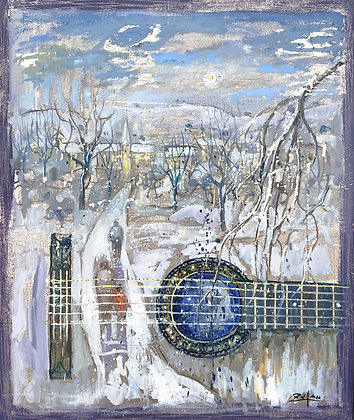 Bruno Zupan - View From My Mothers Window