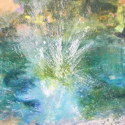 Kathy Buist - Splash with Rhododendrons