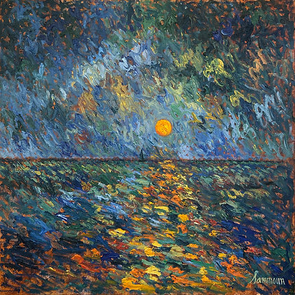Samir Sammoun - Sunset On The Mediterranean Sea