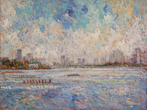 "Samir Sammoun, ""Head of the Charles, and the city"""