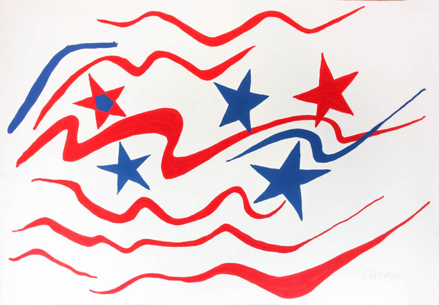"Alexander Calder ""Stars and Stripes"""