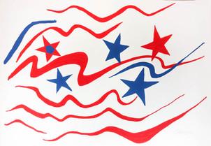 "Alexander Calder ""Stars and Stripes"""