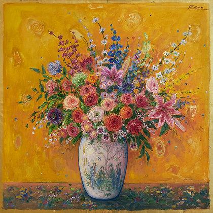 Bruno Zupan - Bouquet on Cinnamon Ground