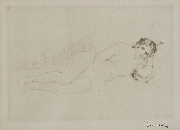 Pierre Auguste Renoir - Femme nue Couchée
