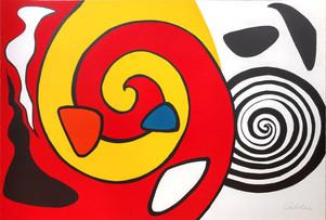 """Alexander Calder """"Spirale et Turban"""""""