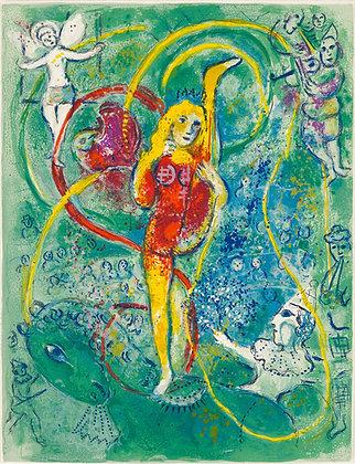 Marc Chagall - Le Cirque M. 492