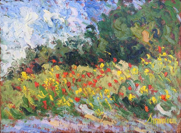 """Samir Sammoun """"Spring, Wild Flowers"""""""