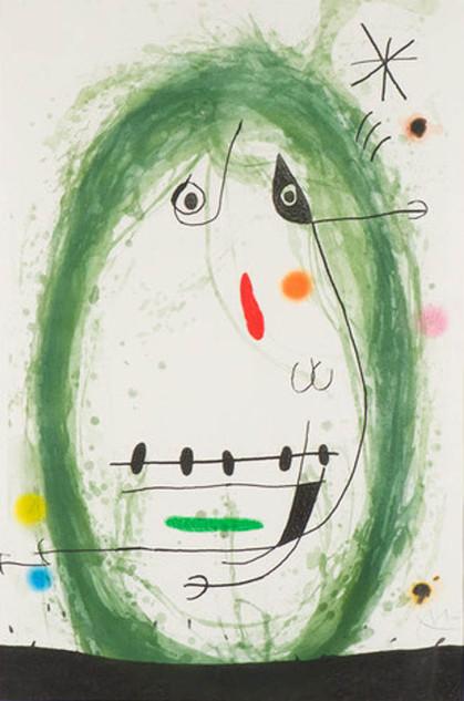 "Joan Miro ""L'Exile Vert"""