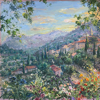 Bruno Zupan - Valley Of Valldemossa June Light